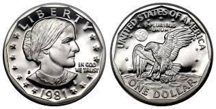 $1 Susan B Anthony